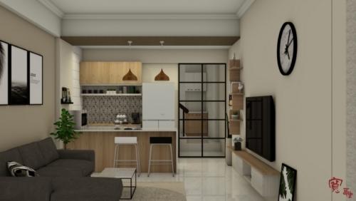 重泫-豐連街1F客餐廳-3D設計-20190116-T-吧檯正面-LOGO page-0001